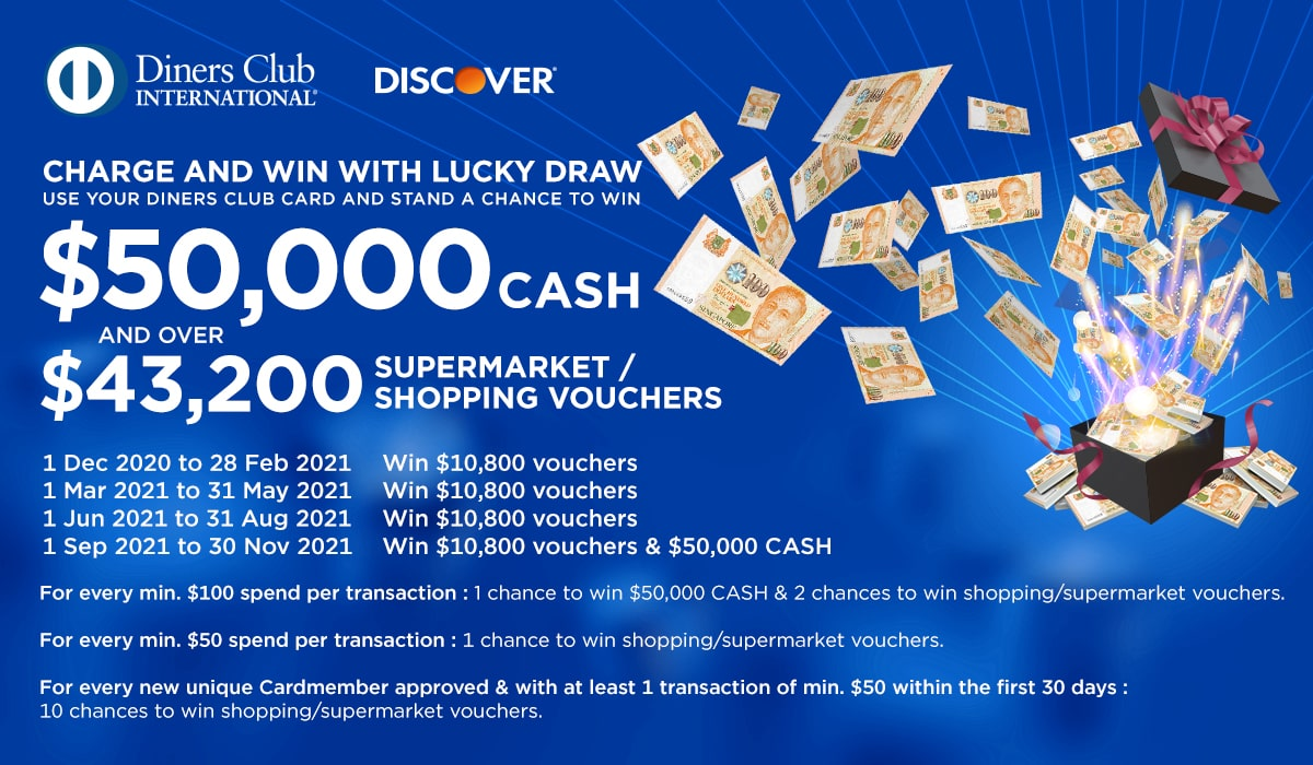Charge and Win 2021 with Lucky Draw